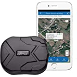 GPS Tracker, TKSTAR GPS Tracker for Vehicles Hidden Waterproof Realtime Car GPS Trackers Anti Theft Tracking Device with Magn