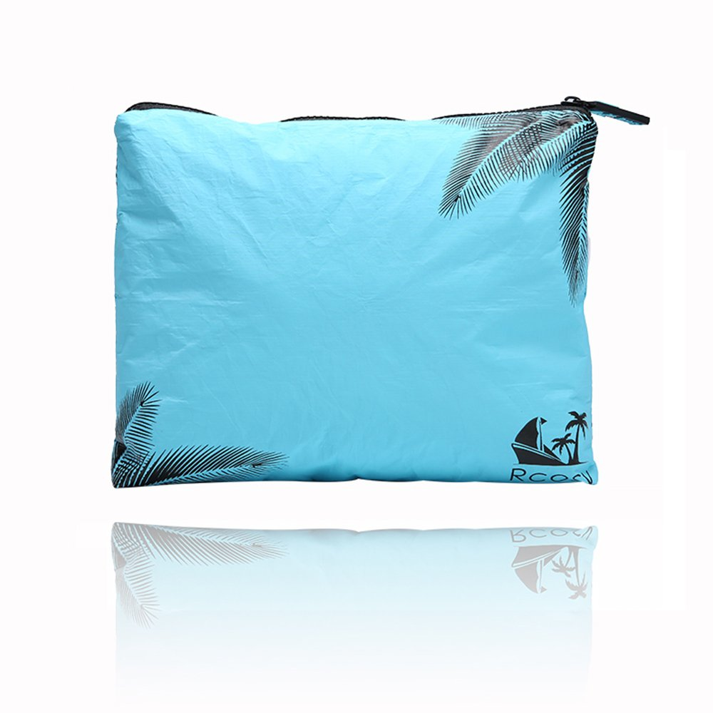 Chillscreamni Tyvek Swimsuit Bags - Multi-function Cosmetic Travel Bag with Zip-top Closure, Portable Cosmetic Beauty Bag Makeup Clutch Pouch, Made of Highly Anti-tearing Tyvek Cloth