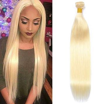 Amazon Com Newness Straight 613 Blonde Hair Bundles Short Length One Bundle 12 Inch 613 Honey Straight Human Hair Bundles Platinum 613 Straight Hair Beauty