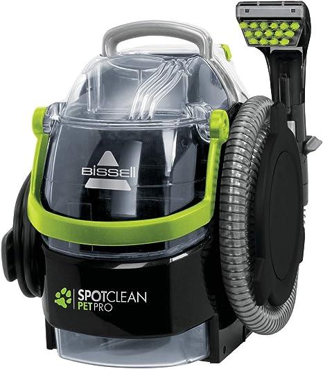 Bissell 15585 SpotClean Pet Pro Portable, 750 W, 84 Decibelios, Negro/Verde: Amazon.es: Hogar