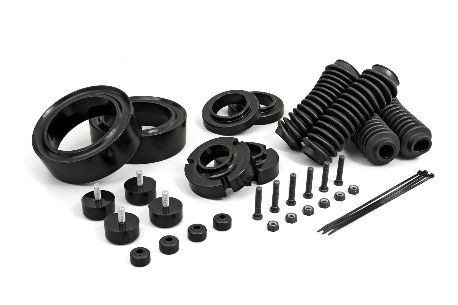 fits 2001 to 2006 2//4WD all cabs KT09110BK Toyota Sequoia 2.5 Lift Kit Made in America Toyota Sequoia 2.5 Lift Kit all transmissions Daystar