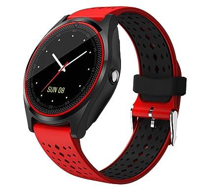ZUEN Bluetooth Reloj Inteligente teléfono V9 con 2G SIM ...