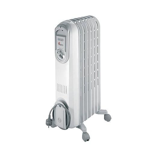 Delonghi Vento V550715 Radiador De Aceite, 1500 W, 3 Velocidades ...