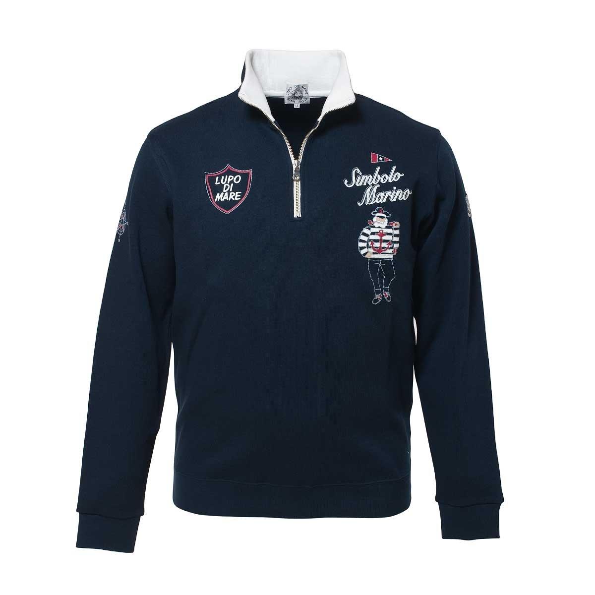 SINACOVA Men's sweatshirt Navy X-Large by SINA COVA