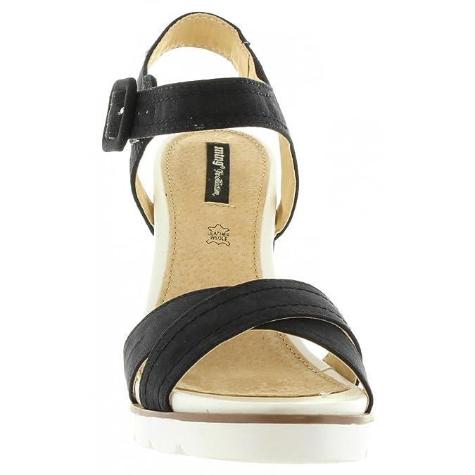 Sandales pour Femme MTNG 53552 C10308 GIJON NEGRO fIdzaVozWX