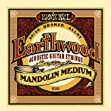 Ernie Ball Earthwood Mandolin Medium 80/20 Bronze Loop End Set, .010 - .036