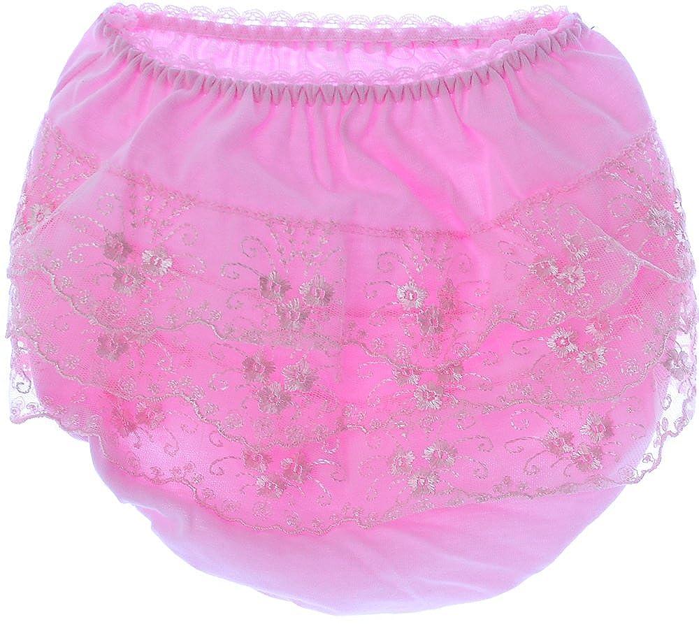 La Bortini Slips Frilly Kinder Baby Unterw/äsche Unterhose H/öschen Mit R/üschen Rosa