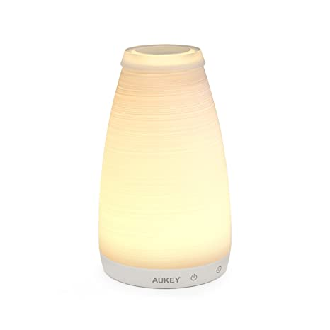 Aukey rechargeable table lamp glass vase bedroom lamp with touch aukey rechargeable table lamp glass vase bedroom lamp with touch and remote control dimmable aloadofball Gallery