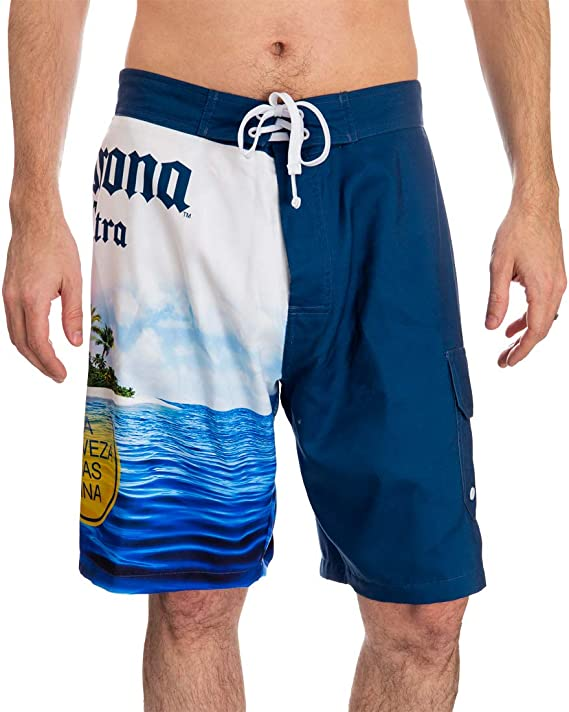 Reality And Ideals Blue Ribbon MAGA Mens Swim Trunks Board Shorts