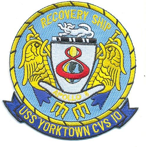 USS Yorktown CVS-10 APOLLO 8 Patch