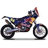 "KTM 450 Rally Dakar #1 ""Red Bull"" Motorcycle 1/18 by Bburago 51071"