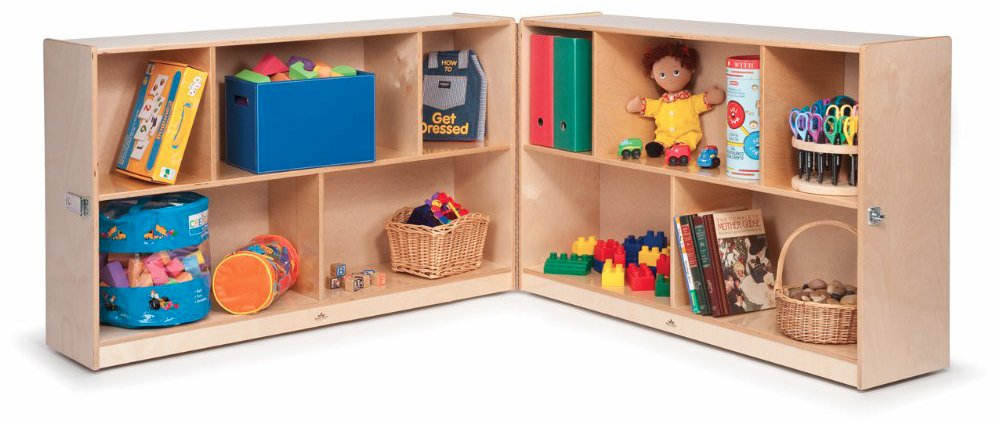 Whitney Brothers 24'' Fold & Roll Storage Childrens Furniture