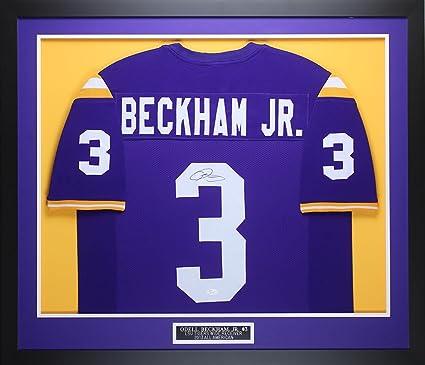 brand new 90b13 b0e85 australia odell beckham signed jersey db1c5 e7813