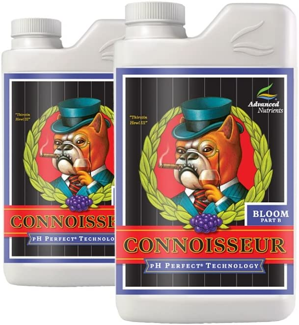 10 Liter - Connoisseur - Part A and B - Bloom Nutrient - pH Perfect Technology - Advanced Nutrients 1671-16 61TF0p9N4YLSL1000_