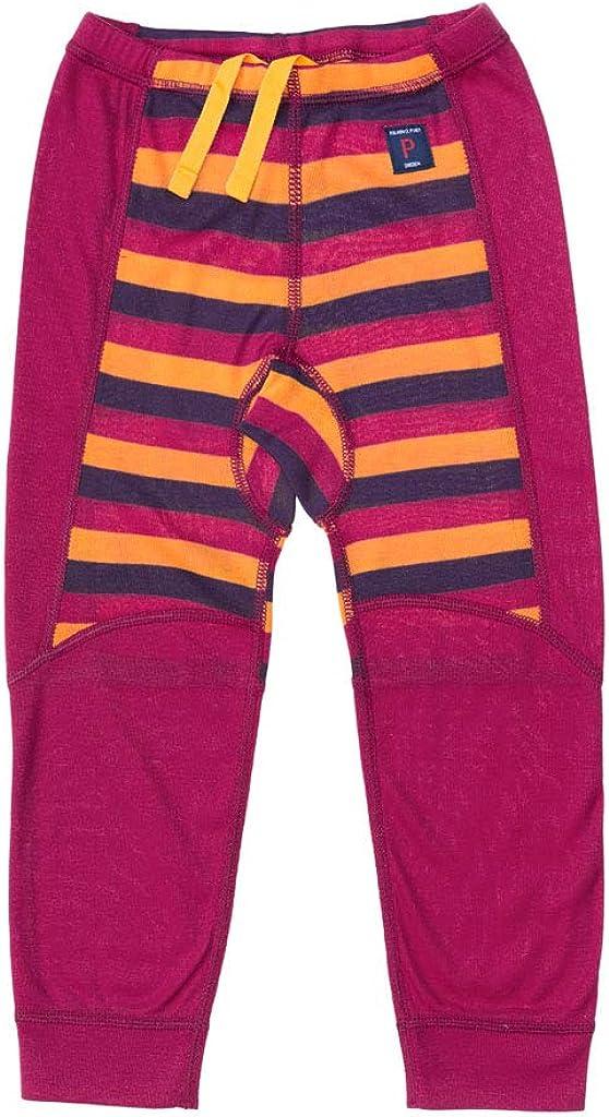 Pyret Color /& Stripe Base Layer Pants Baby Polarn O