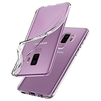 timeless design cfede bda2f Samsung Galaxy S9 Plus Case, Spigen® [Liquid Crystal] Galaxy S9 Plus Case  with Light but Durable Flexible Clear TPU Protection for Samsung Galaxy S9  ...