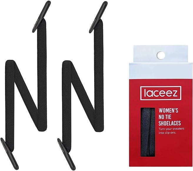 LACEEZ No-Tie Shoelaces for Women Shoes