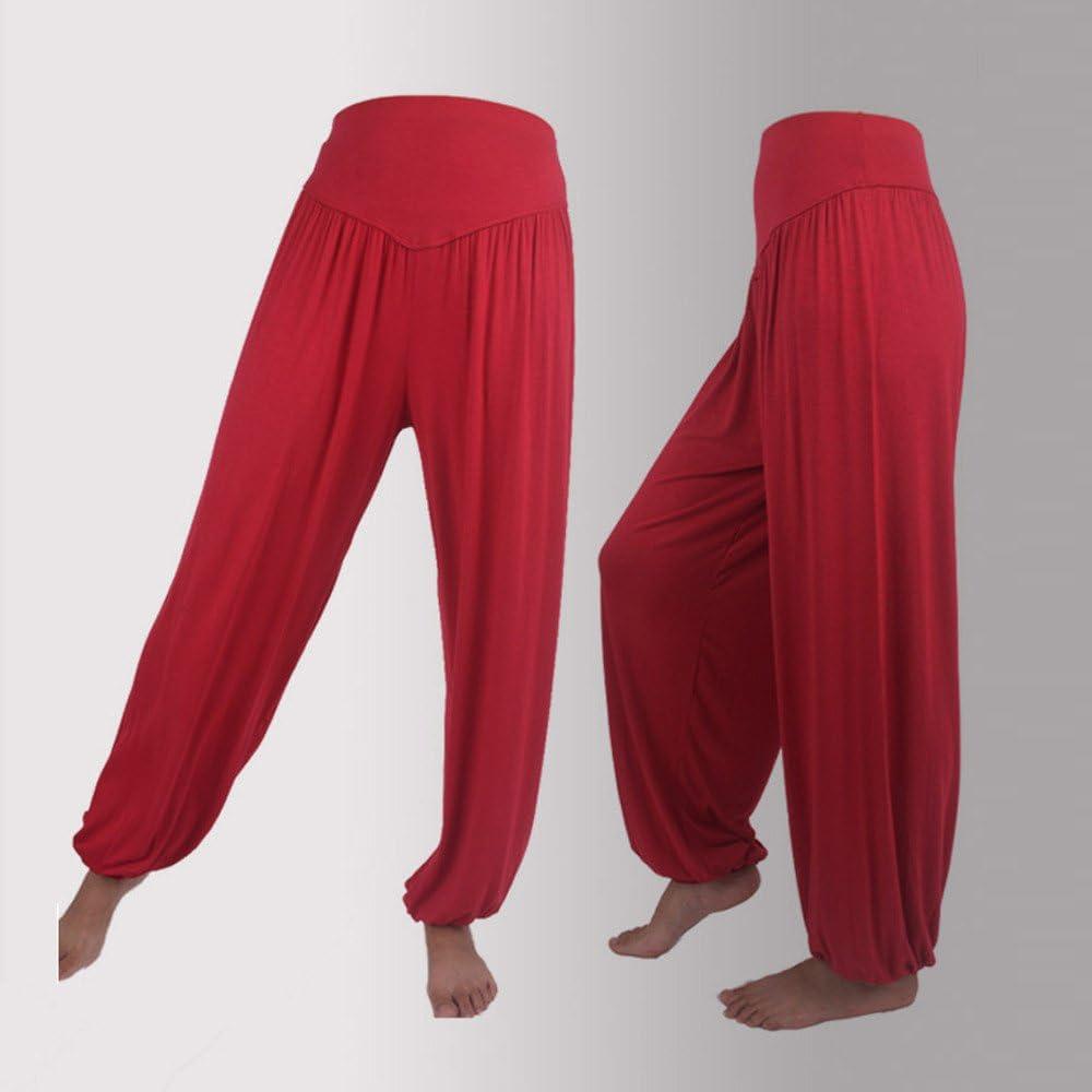 Thatso Women Plus Size Harem Pants Loose Casual Modal Cotton Lounge Joggers Yoga Pants