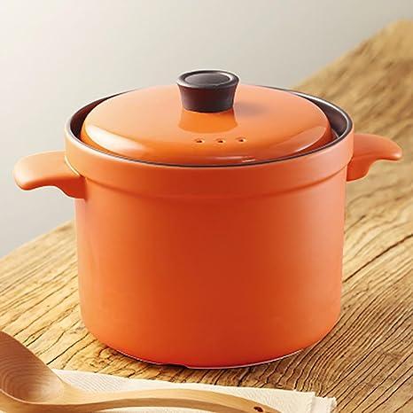 G & Z cerámica cazo olla olla sopa braisé Gacha Pot de pollo Cuit con alto ...