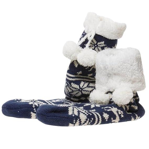 George Jimmy Soft Fuzzy Dormir Calcetines Antideslizantes del ...