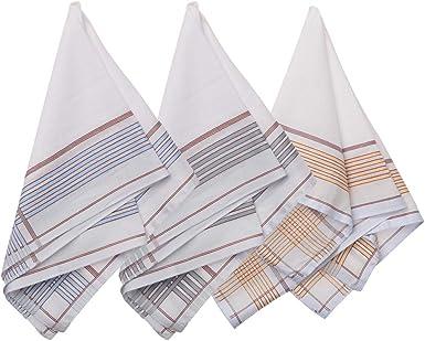 Vintage handkerchief set colourful mens handkerchiefs