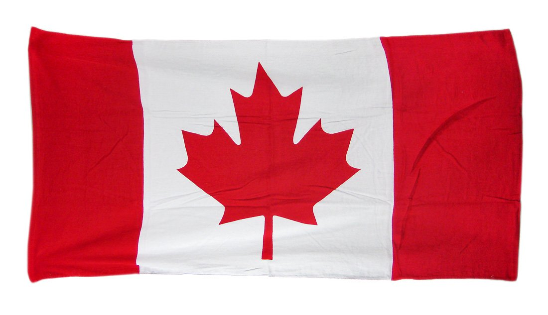 Canadian Maple Leaf Flag Beach Towel 60 x 30 Canada by Canadian Maple Leaf Flag Beach Towel 60 x 30 Canada ... Zeckos 2298