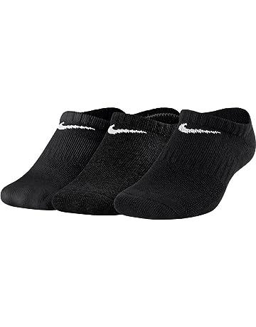 Nike Y NK EVERYDAY CUSH NS 3PR - Calcetines, Unisex Infantil, Negro(BLACK