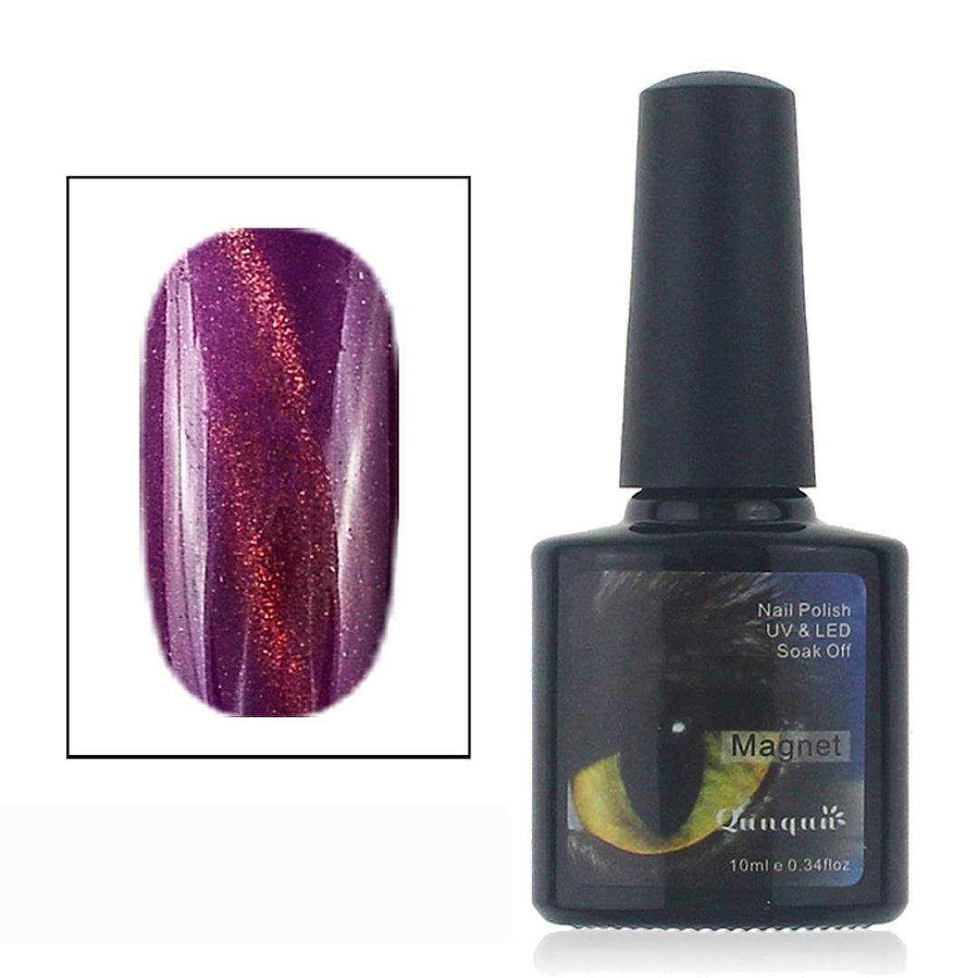 JACKY 12 Color UV Glue Nail Polish Manicure LED Cats Eye Color Nail Decoration (A) JACKY-Beauty JACKY 1089