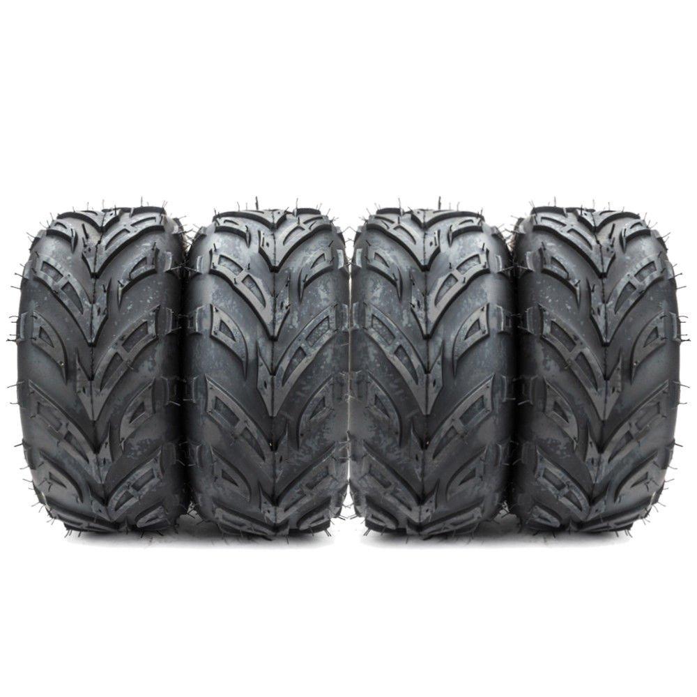 ATV Tires 145/70-6 (145x70-6) for Sport ATV & Offroad Go Kart Tires 4PR P361 4 Ply Pack of 4