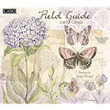"Lang Wall Calendar ""Field Guide"" Artwork by Susan Winget-12 Month-Open Size, 13 3/8"" X 24"""