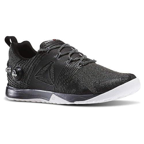 Reebok Women s Crossfit Nano Pump 2.0 Training Shoes Black White Alloy ... 6180a60fe