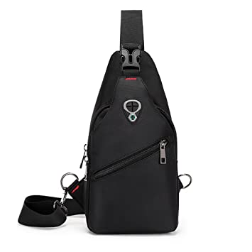 b6eec7976682 Sling Bags Chest shoulder Bags for Men Women-Rophie Sling Travel Chest Bag  Cross Body Bag School Bag for Cycling Hiking Camping Gym