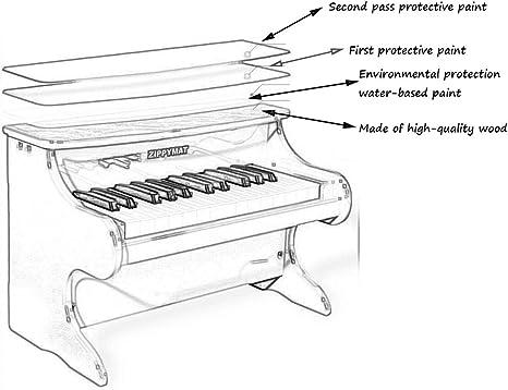 Juguetes De Piano para Niños Teclado Electronico 25 Llaves Sonido ...