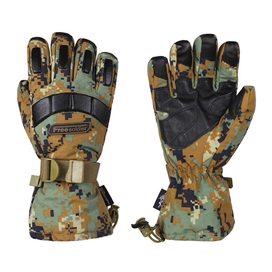 JESSIEKERVIN YY3 Geier Armee Fan Taktische Handschuhe Winter Ski Vollfinger Handschuhe Rutschfeste Wasserdichte Reithandschuhe