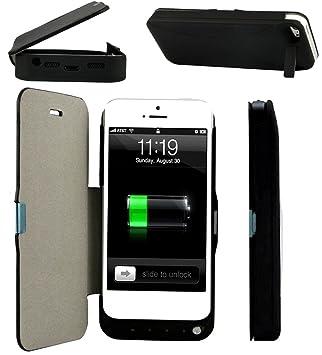 Sundaree®4200mAh Funda Carcasa con Bateria iphone 5/5S/SE ...