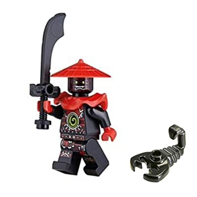 Lego Ninjago Minifigure - Stone Swordsman Limited Edition Foil Pack (with Sword and Scorpion): Toys & Games