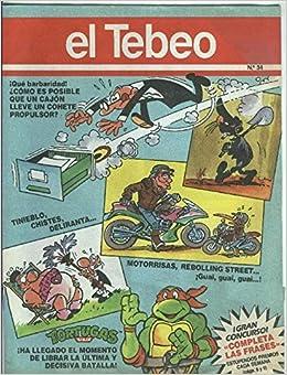 El Tebeo edicion 1991 numero 034: Varios: Amazon.com: Books