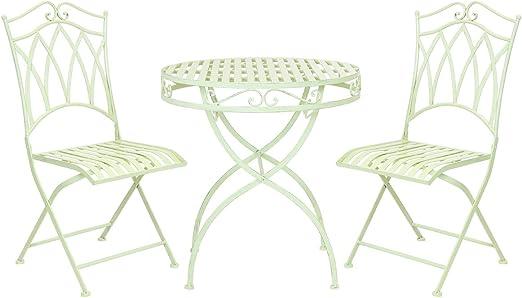 Bentley - Salon de jardin style bistro - table et 2 chaises ...