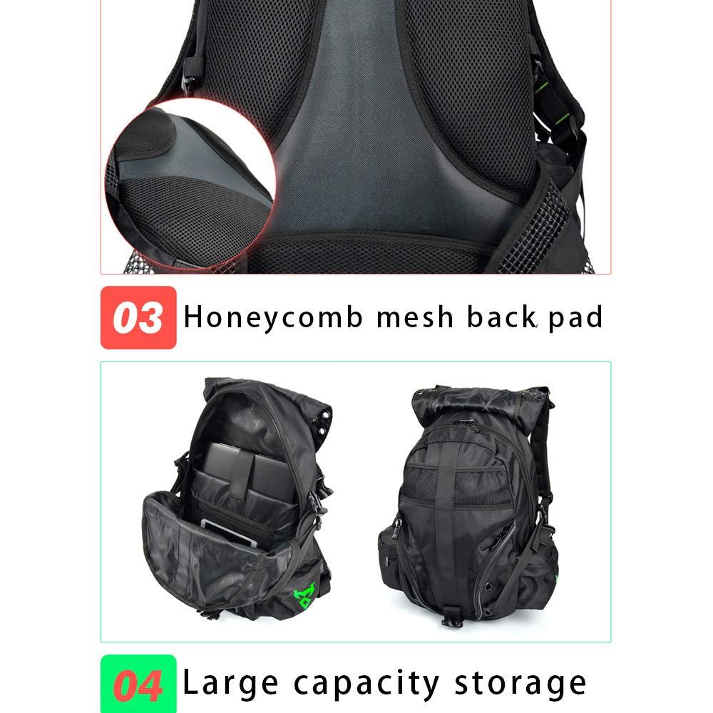 Amazon.com: BPSY - Mochila de aleación para motocicleta ...
