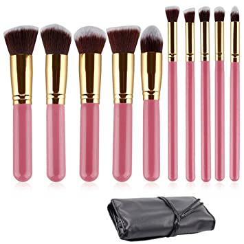 Amazoncom Ammiy 10pcs Professional Premium Kabuki Makeup Brush Set - Kabuki-makeup