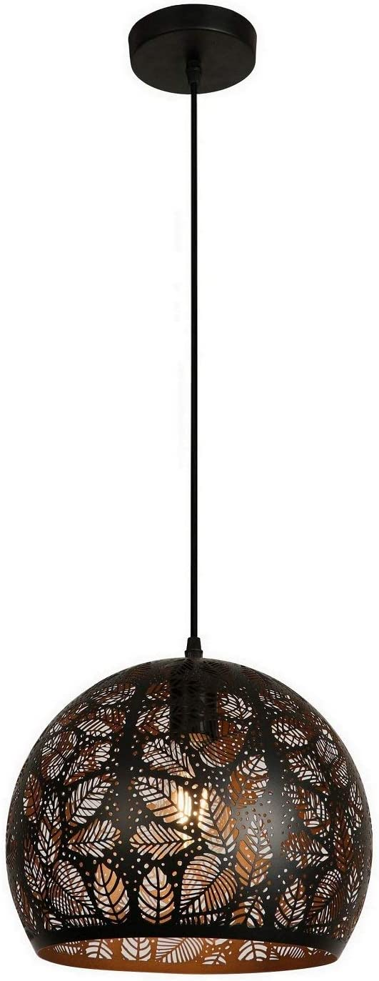 Summitland 11.875 Inch Pendant Light with Precision Cut Metal Shade
