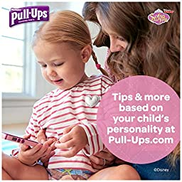 Pull-Ups Cool and Learn Training Pants for Girls, 3T-4T, 22 Count