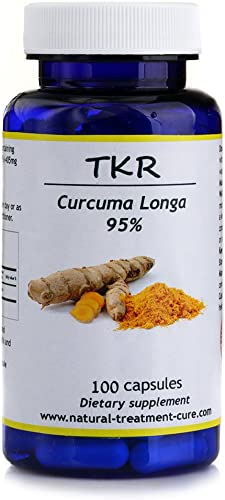 Hekma Center Turmeric Curcumin – Extract of Curuma Longa 500 MG – 100 Capsules