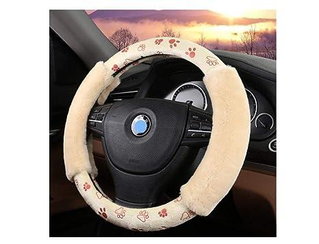 c5f931e99a8f Amazon.com: LW Plush Steering Wheel Cover - Camouflage Steering ...