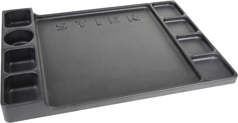 STIER Kunststoffabdeckung für STIER Werkstattwagen leer schwarz vielfältige