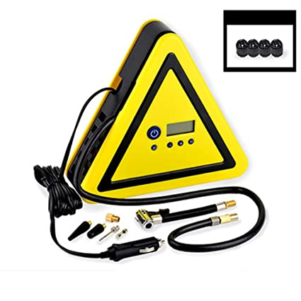 Amazon Com Q F Portable Car Air Pump For Tires Air Compressor Pump