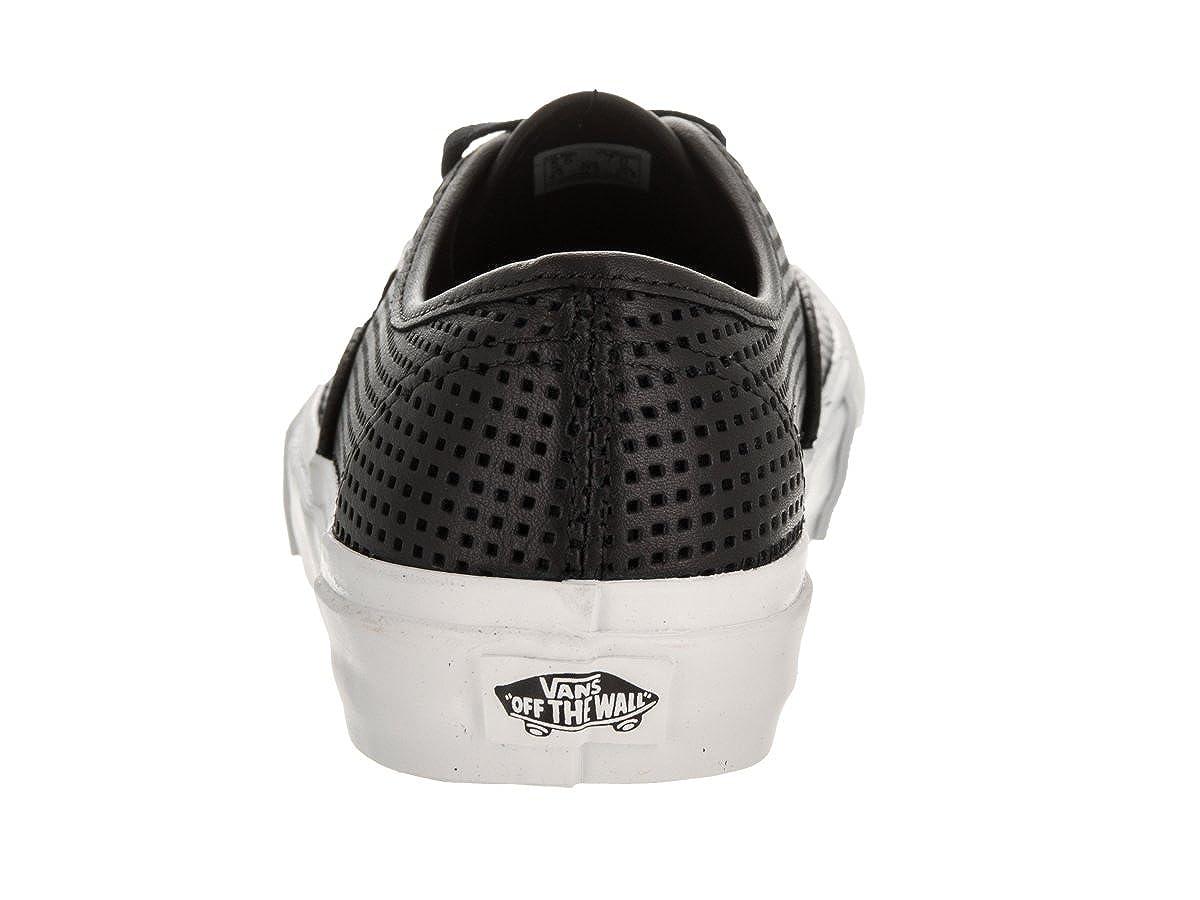 Vans Woherren Authentic Dx Dx Dx Woherren Leather schwarz Turnschuhe Leather e90876