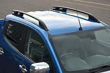 Alvm Parts Accessories Dachträgerschienen Set Für L200 Ab 2015 Aluminium Schwarz Auto