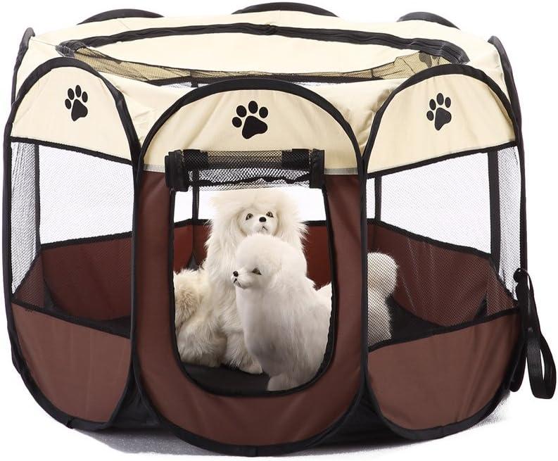 S-Lifeeling - Caseta de perro o gato, para interior y exterior