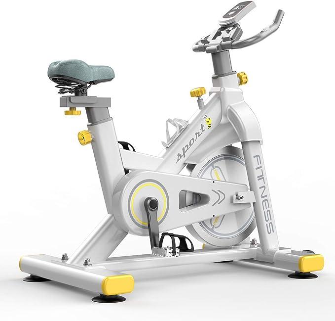 Zzxxo Bicicleta estática de Spinning Deportiva para Estudio,Cardiovascular, Ciclismo, hogar, Gim...